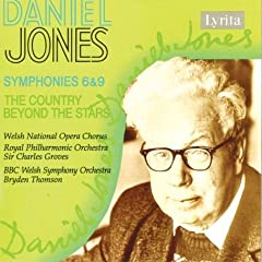 Daniel Jones: Symphonies 6 & 9/The Country Beyond The Stars