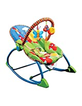 smiles creation newborn to toddler rocker cum Chair with Soothing Vibration & Music