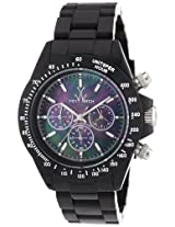 Toy Watch Fluo Chronograph Black Plasteramic Unisex Watch FL40BK