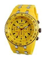 Exotica Analog Yellow Dial Men's Watch (EF-01 Yellow-PL)