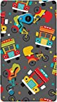 DailyObjects Colorful Indian Traffic Case For Nokia Lumia 720