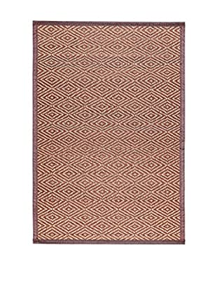 Concept Luxury Teppich Bamboo braun/weiß