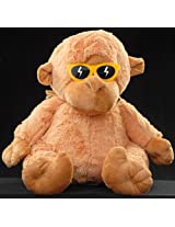 Monkey With Souglasses 2 Colors Small 25 Cms