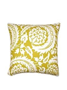 "Lacefield Designs Lisbon 20"" x 20"" Pillow, Citrus Yellow"