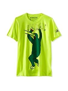 Spenglish Men's Haliwud T-Shirt (Neon Yellow Heather)