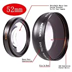 Neewer 52mm Wide Angle Prime Lens for Nikon DSLR Camera