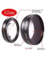 Neewer 52mm Wide Angle Prime Lens for Nikon DSLR Camera
