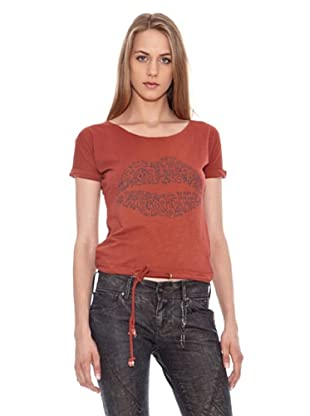 Pepe Jeans London Camiseta Bettina (Naranja)