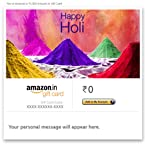 Happy Holi (Piles of Colour) - E-mail Amazon.in Gift Card