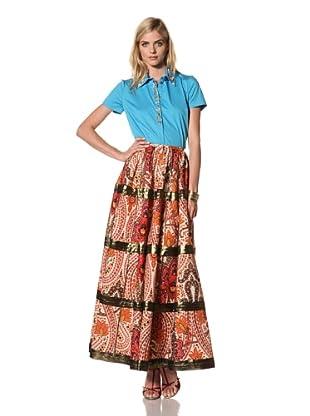 Thakoon Women's Paisley Print Maxi Skirt (Multi)