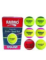 Rabro Champ Cricket Tennis Ball-Per Dozen