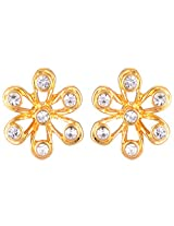 Estelle Gold Plated Studs for Women (ESER502-726)
