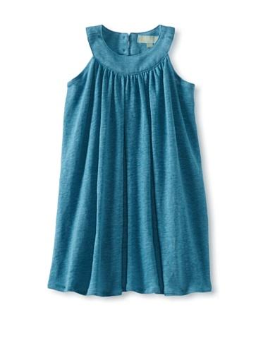 Zolima Girl's Swing Dress (Mediterranean Blue)