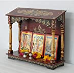 Handpainted wooden Home temple ,wall hanging