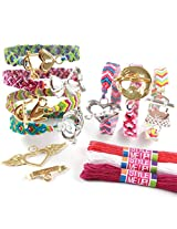 Style Me Up Charm-Lock Bracelets, Multi Color