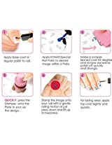 Konad Stamping Nail Art Image Plate M64