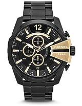 Diesel Chronograph Black Dial Men's Watch - DZ4338