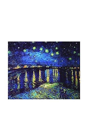 Legendarte Lienzo Notte Stellata Sul Rodano di Vincent Van Gogh