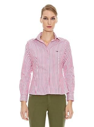 Spagnolo Camisa Popelín Rejón (Rosa / Blanco)