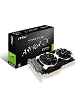 MSI Geforce GTX950 Armor OC Edition (2GB, GDDR5, 6610 MHz Memory, Boost Clock : 1253 MHz , Base Clock : 1076 MHz) PCI-E 16X Graphics Card
