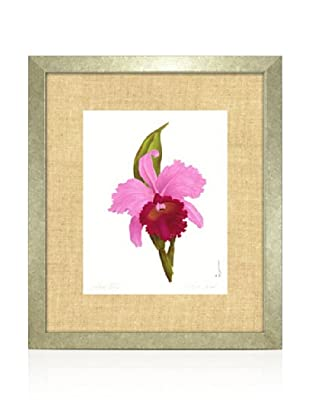 Orchid I, Silver/Bamboo