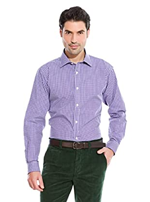 Cortefiel Camisa Vichy (Violeta)
