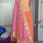 Banarasi Dress Material With Dupatta