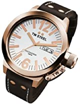 T.W. Steel CEO White Dial Analog Men's Watch - TWS CE1017