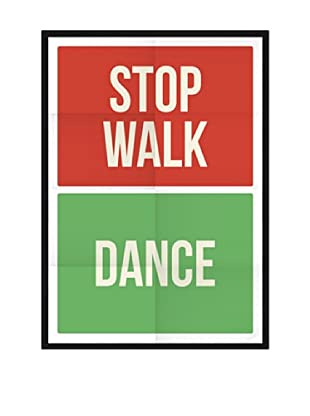 Póster Enmarcado Stop Dance