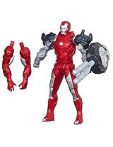 Marvel Iron Man 3 Assemblers Silver Centurion Figure