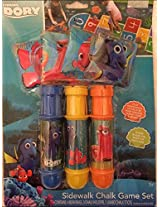 Disney Pixar Finding Dory-Sidewalk Chalk Game Set