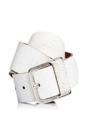 Pepe Jeans London Cinturón Garret (Blanco)