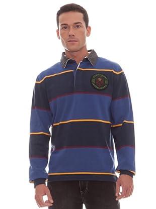 Gant Polo Rayas (Azul)
