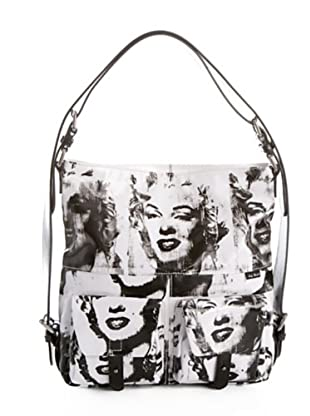 Andy Warhol by Pepe Jeans Bolso Hobo Marilyn blanco