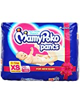 Mamy Poko Pants Extra Small 20 Pieces (3 To 5 Kg)
