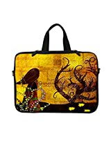 Neoprene Laptop Carrying Case Sleeve Bag w. Hidden Handle & Eyelet (D-Ring) for 13 13.3 Inch Notebook - Gustav Klimt