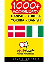1000+ Danish - Yoruba Yoruba - Danish Vocabulary