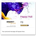 Happy Holi (Splash) - E-mail Amazon.in Gift Card