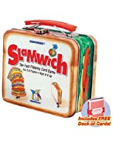 Slamwich Collectors Edition Tin card game with free deck of standard playing cards