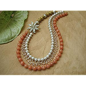 Dreamz Jewels Peach Necklace