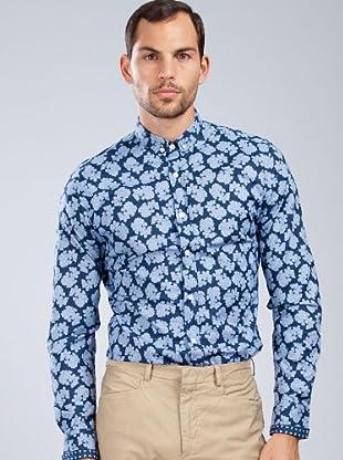 Armand Basi Camisa Eli (azul marino)