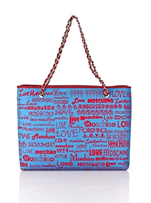 Love Moschino Shopping (Azzurro)