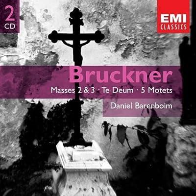 輸入盤CD バレンボイム指揮/イギリス室内管弦楽団 Bruckner: Masses 2 & 3; Te Deum; 5 Motets(2枚組)のAmazonの商品頁を開く