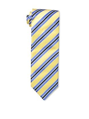 Massimo Bizzocchi Men's Triple Stripe Tie, Yellow