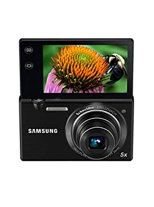 Samsung Cámara MV800 pantalla abatible 16.5 MP negra