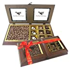 Tempting Chocolate Box with Milk Nutties - Chocholik Belgium Gifts