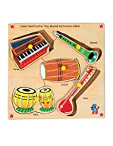 Skillofun Junior Identification Trays - India Musical Instruments