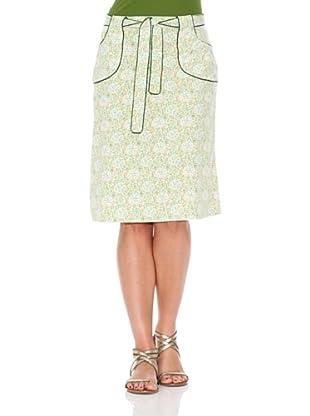 Monoplaza Falda Para Baño Bando (Verde)