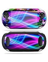 Protective Vinyl Skin Decal Cover For Ps Vita Psvita Playstation Vita Portable Sticker Skins Light Waves