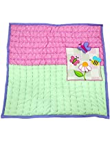Ibby Daisies Baby Blanket - Hand Quilted